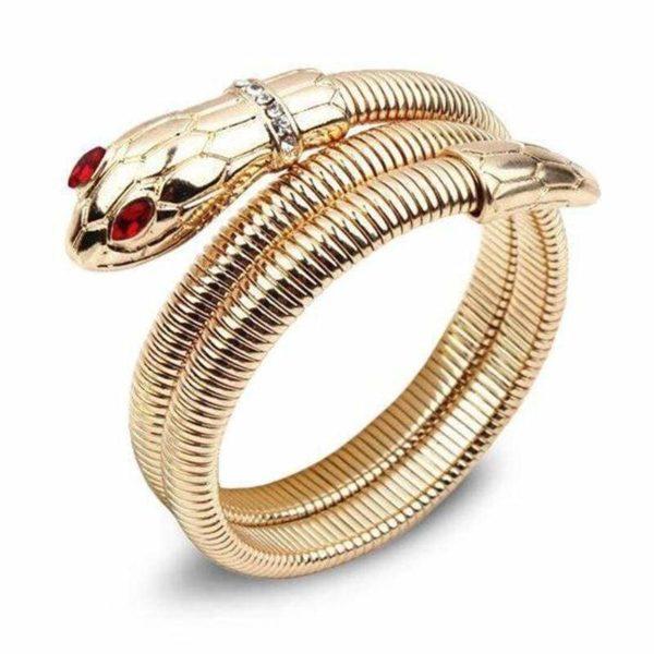 snake ruby bracelet