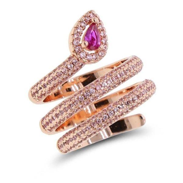 gold-snake-pinky-ring 1