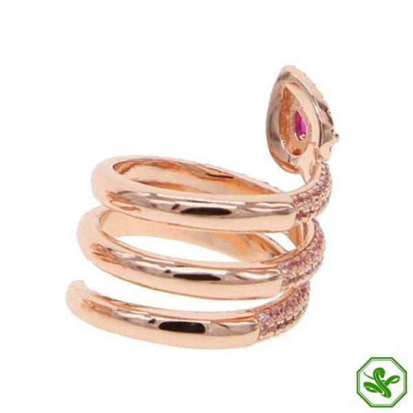 gold-snake-pinky-ring 4