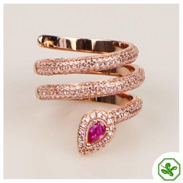 gold-snake-pinky-ring 2