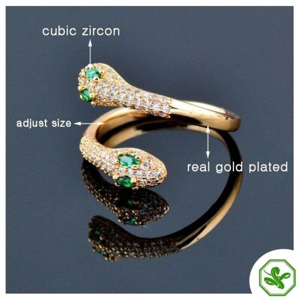 real-gold-snake-ring