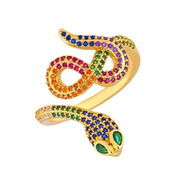 gold-snake-ring-with-diamonds 1