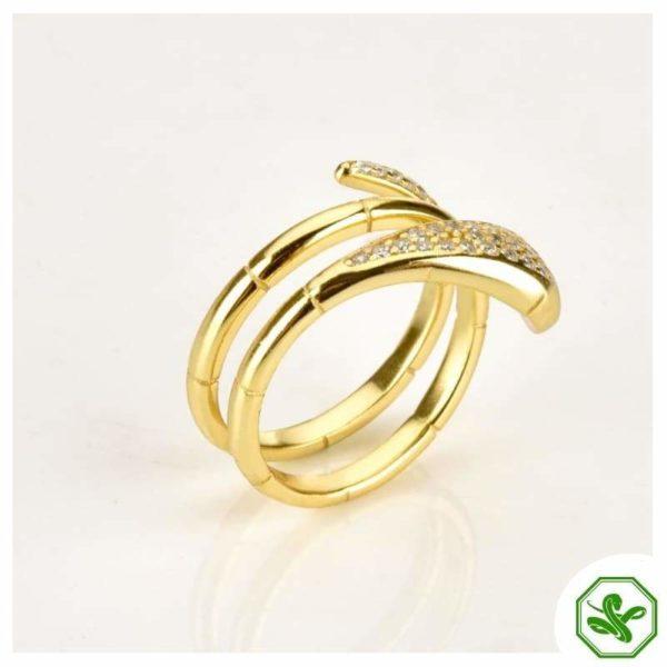 gold-snake-wrap-ring 3