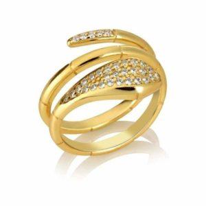 gold-snake-wrap-ring 1