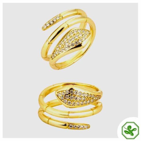 gold-snake-wrap-ring 5