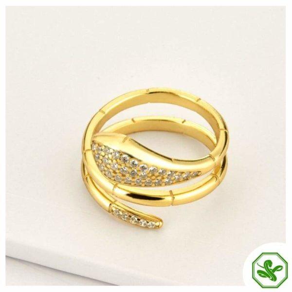 gold-snake-wrap-ring 2