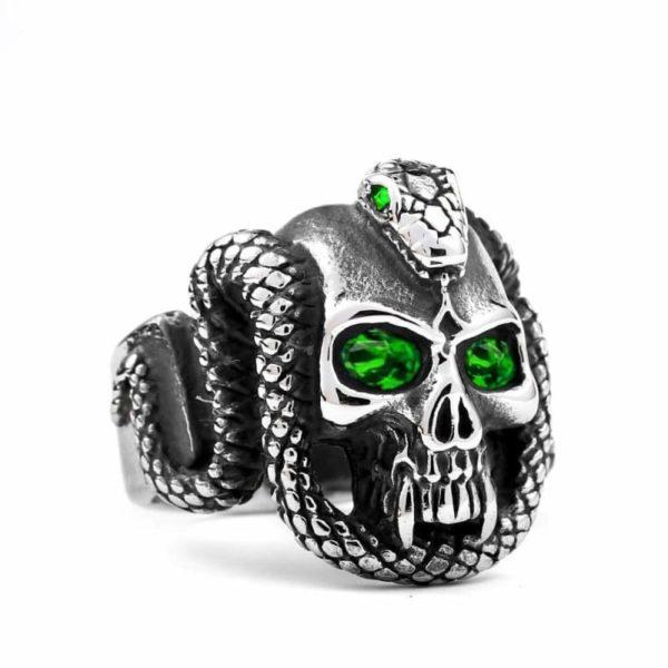 Gothic Snake Ring