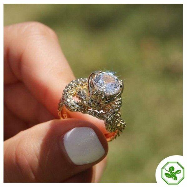 gold-snake-ring