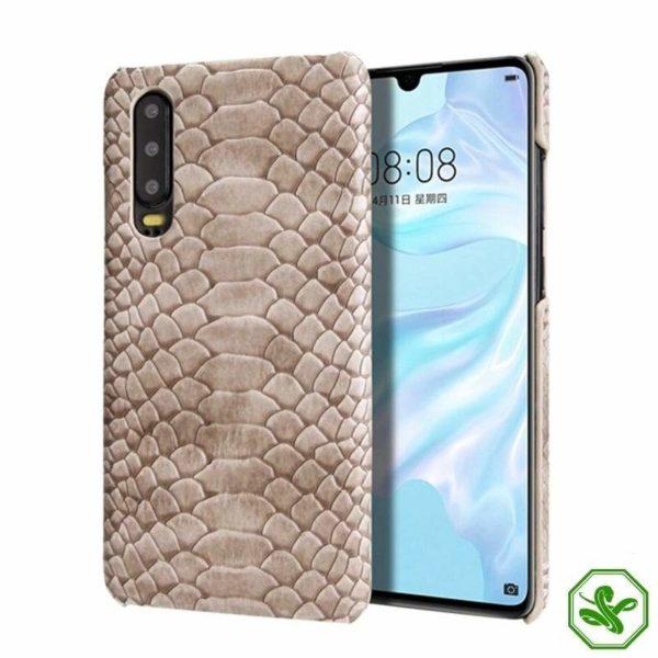 Huawei Snakeskin Phone Case beige