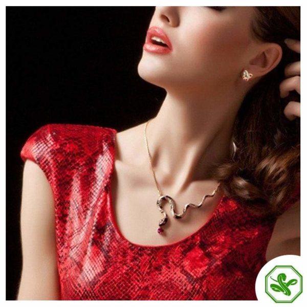 Long Snake Necklace 3
