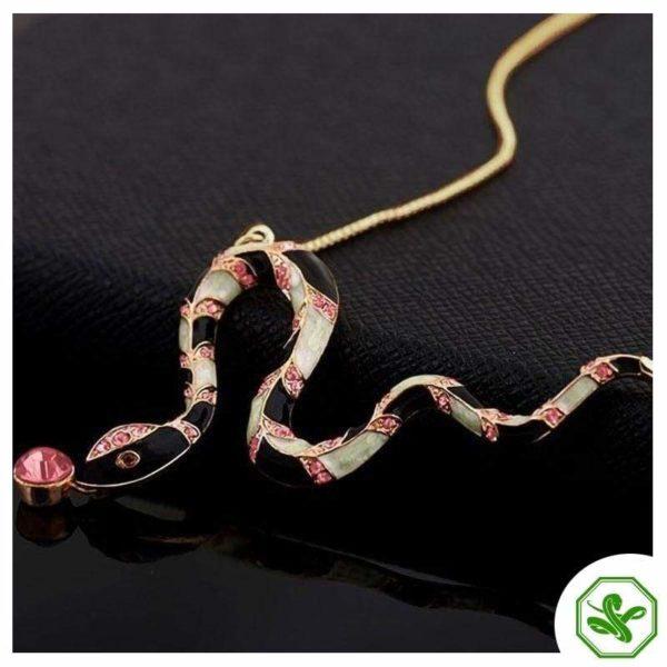 Long Snake Necklace 2