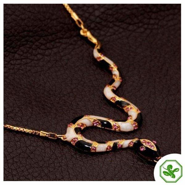 Long Snake Necklace 4