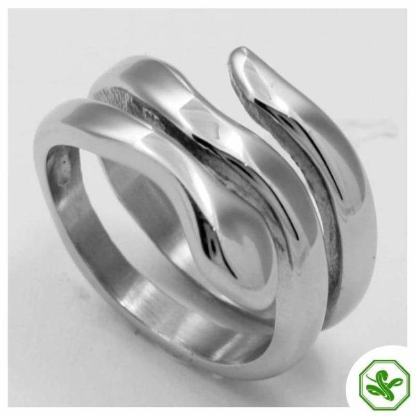 Men's Serpent Ring 5