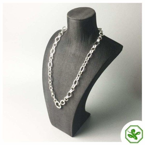silver snake chain for man