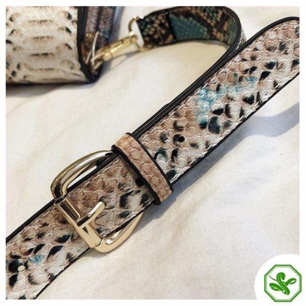 Multicolor Snakeskin Bag 13
