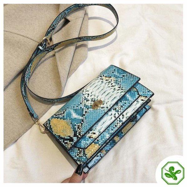Multicolor Snakeskin Bag 20