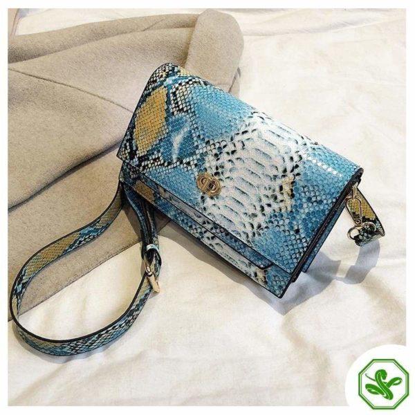 Multicolor Snakeskin Bag 27
