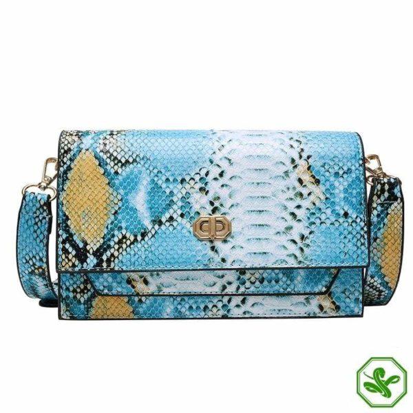 Multicolor Snakeskin Bag 24