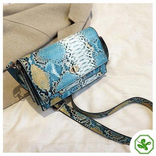 Multicolor Snakeskin Bag 26
