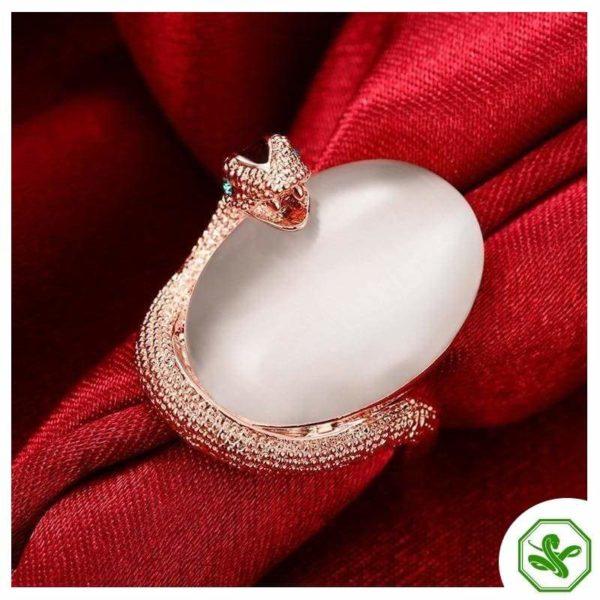 Opal Snake Ring 3
