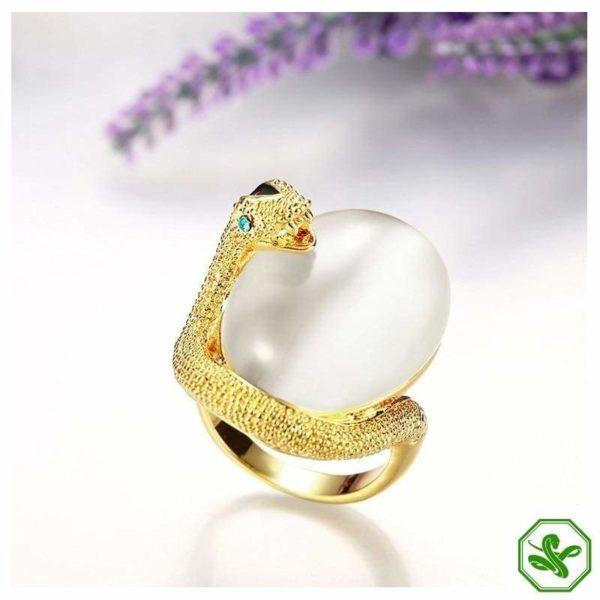 Opal Snake Ring 6