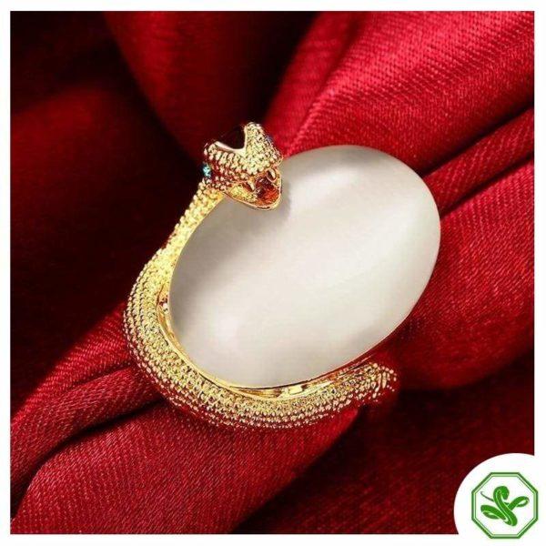 Opal Snake Ring 8