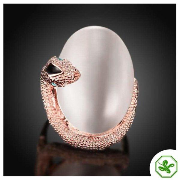 Opal Snake Ring 4