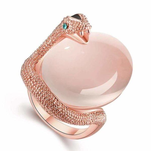 Opal Snake Ring 1