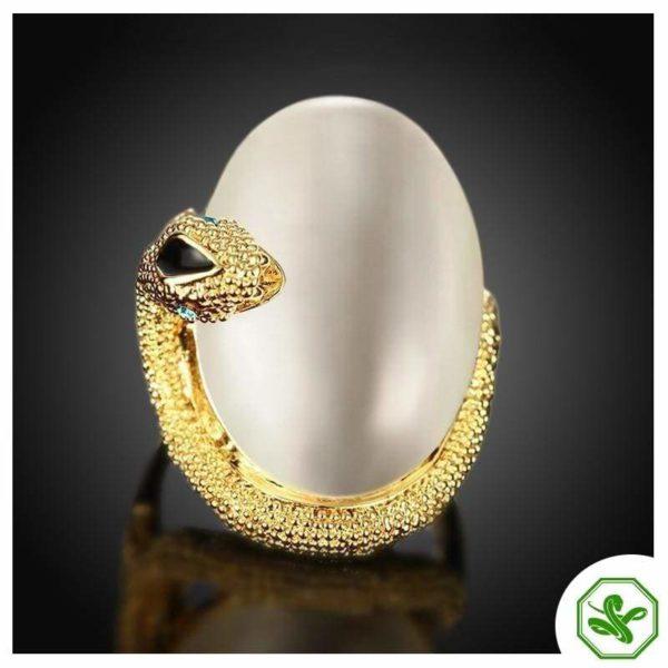 Opal Snake Ring 5