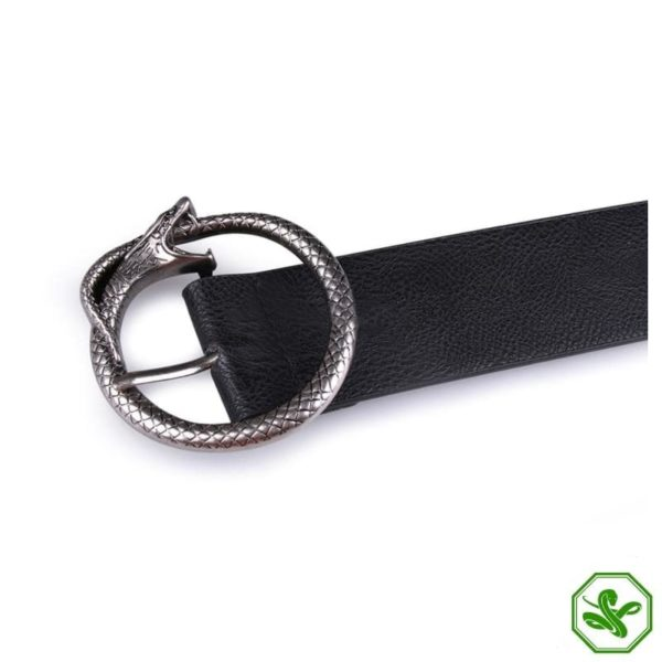 ouroboros buckle for belt