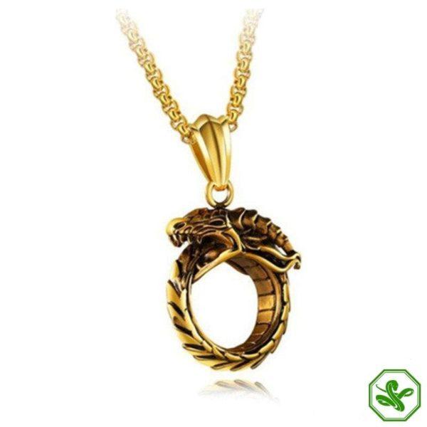Ouroboros Necklace 3