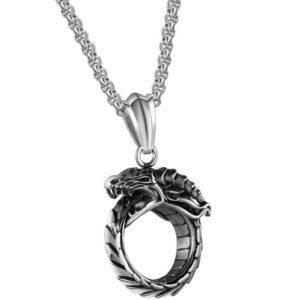 Ouroboros Necklace 1