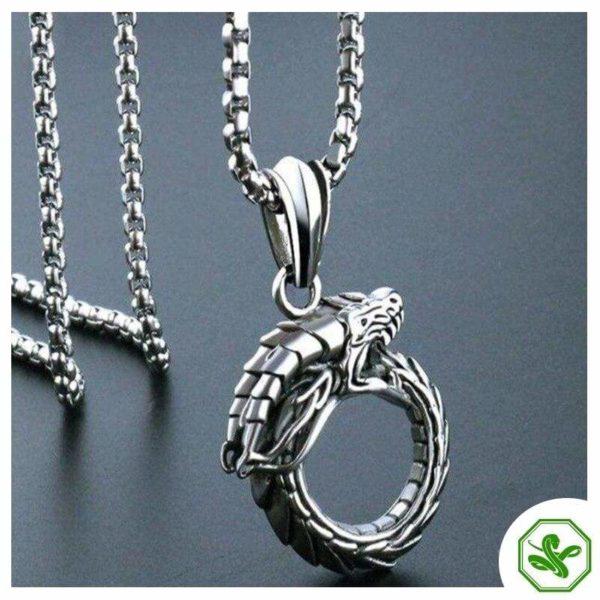 Ouroboros Necklace 2