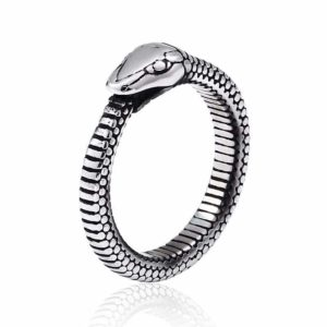 Ouroboros Ring Men's