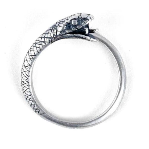 ouroboros-ring-silver 1