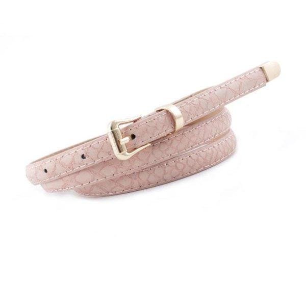 pink snake belt