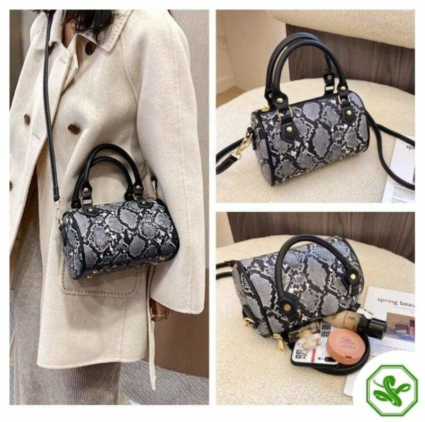 Python Crossbody Bag for woman