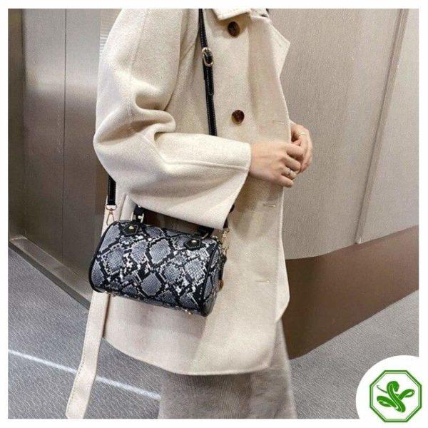 Women's Python Crossbody Bag