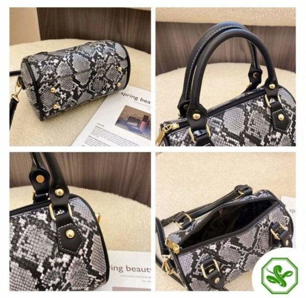 Women Python Crossbody Bag
