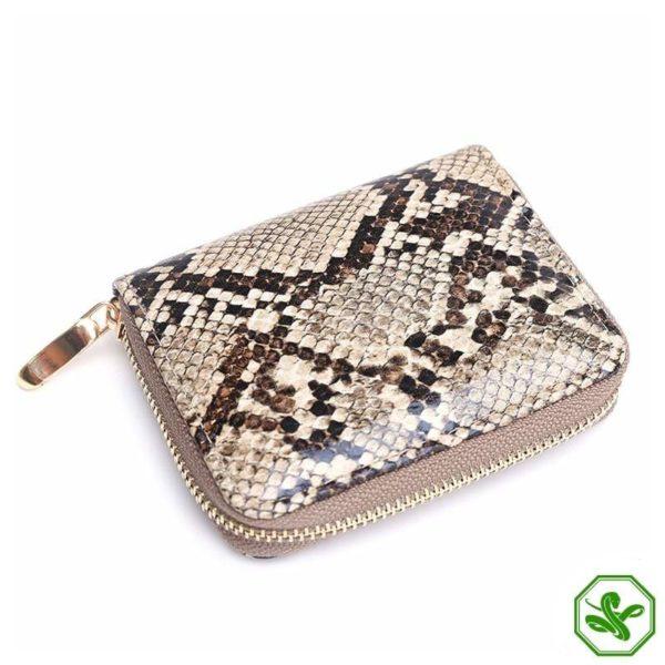 Python Skin Wallet Women's