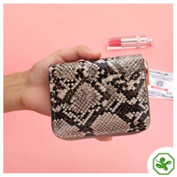Python Skin Wallet Woman