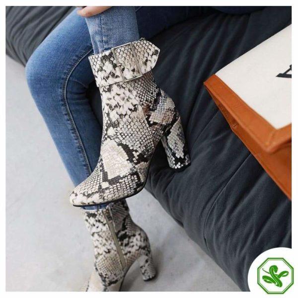 Python Snake Boots 4