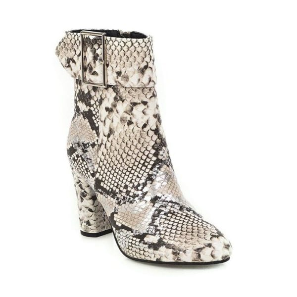 Python Snake Boots 1