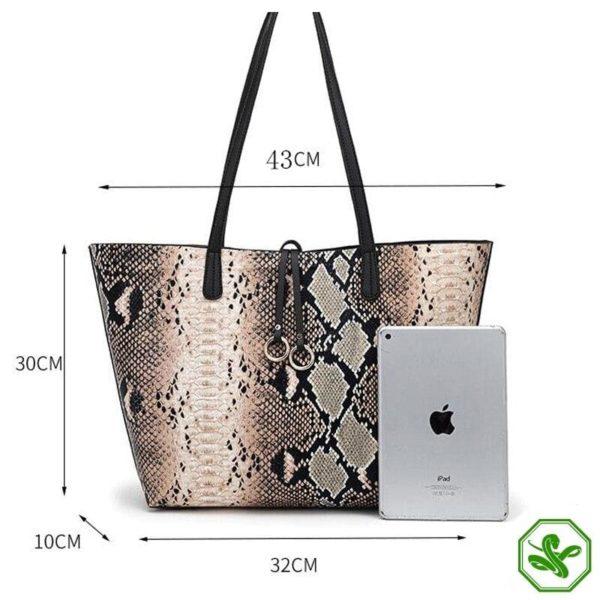 Python Tote Bag 5