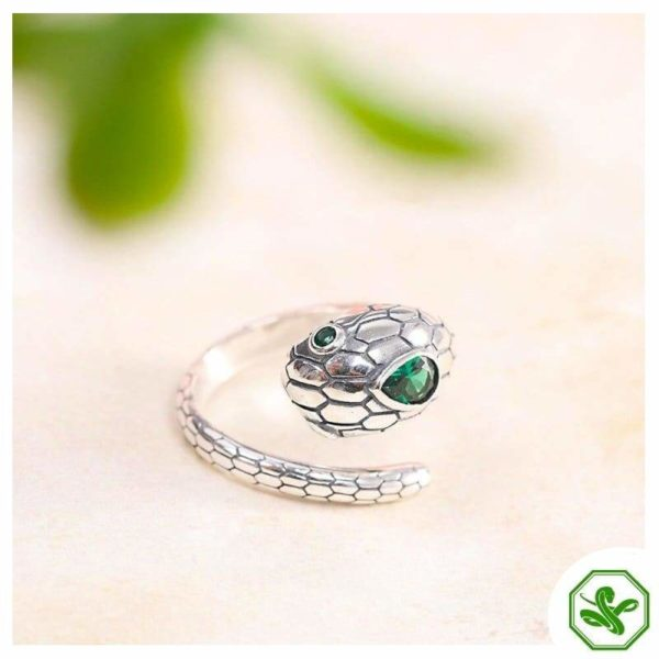 real-silver-snake-ring 4