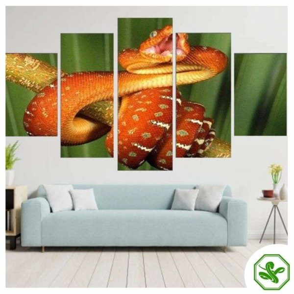 Snake Painting realistic