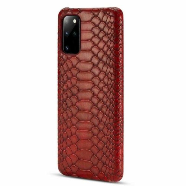 Red Snakeskin iPhone Case