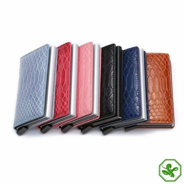 RFID Protection Wallet Multicolored