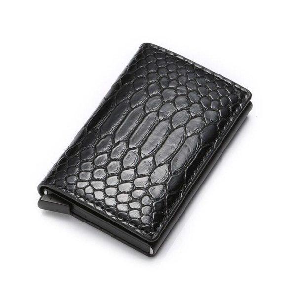 Black RFID Protection Wallet