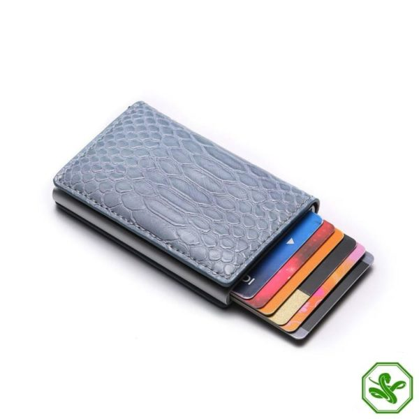 RFID Protection Wallet Blue